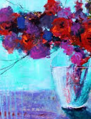Цветы. Рисуем картину на выбор