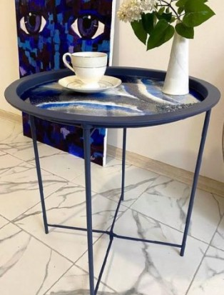 Resin Art Сoffee Table