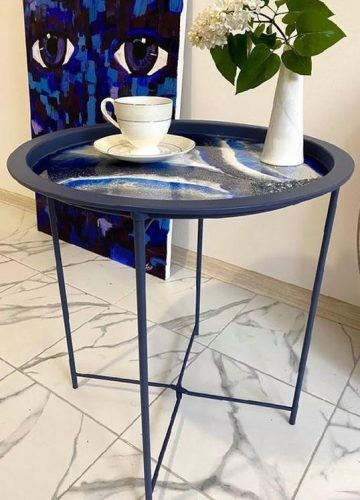 Resin art Coffee Table