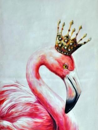 фламинго картина