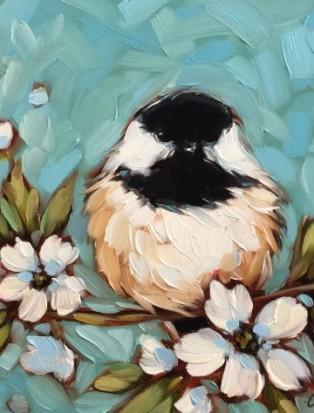Птицы. Рисуем картину на выбор