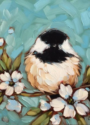 Birds. Choose a picture and paint it