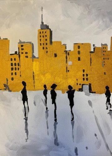 Urban Art – городской пейзаж в современном стиле