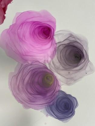 спиртовые чернила розы